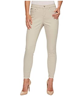 Sunset Hues Olivia Slim Ankle in Stone