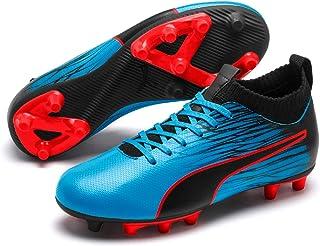 PUMA Boys Evoknit FTB II FG JR Football Boots