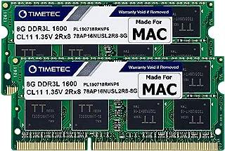 Timetec Hynix IC Apple 16GB Kit (2x8GB) DDR3 1600MHz PC3-128