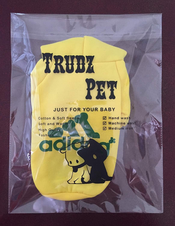 Cotton Jacket Sweat Shirt Coat from 3XL to 9XL for Large Dog Trudz PET Large Dog Hoodies Rdc Pet Apparel Fleece Basic Hoodie Sweater