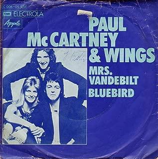 Mrs Vandebilt / Bluebird
