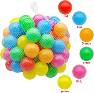 Trendbox 100 Colorful Ocean Ball (6 Color) for Babies Kids Children Soft Plastic Birthday Parties Events Playground Games Pool