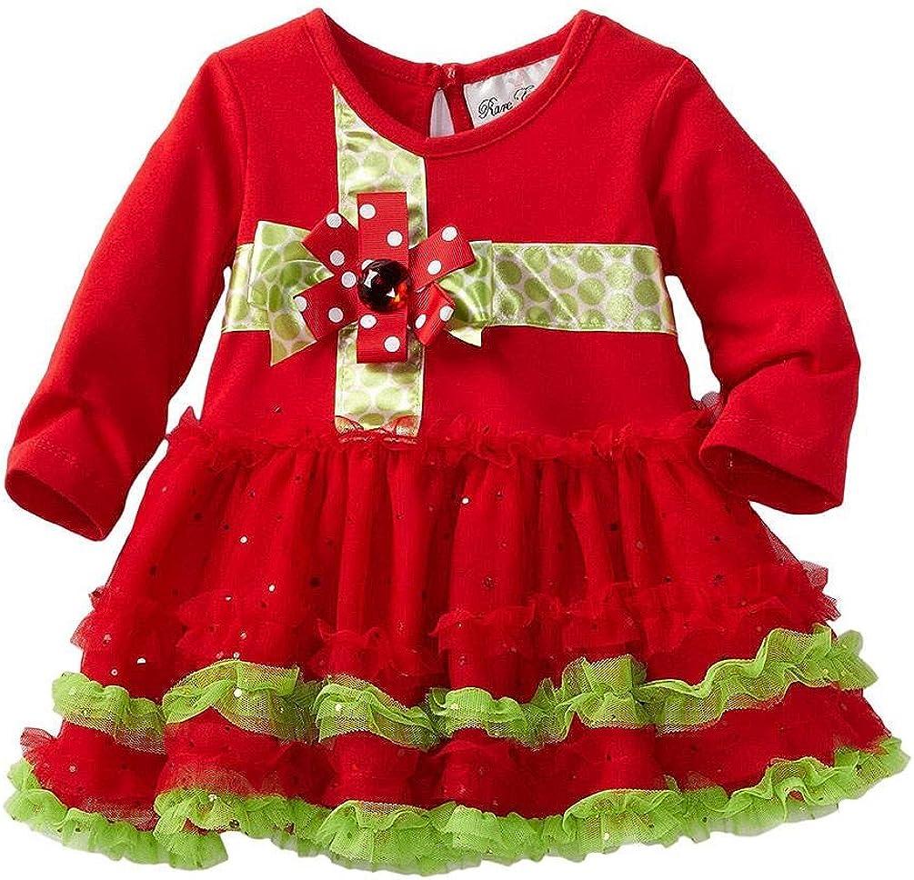 Rare Editions New popularity Girls Holiday Tutu 24M Trust Red - Dress 12M