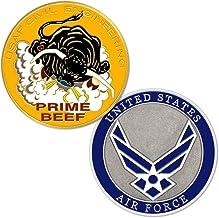 U.S. Air Force Civil Engineering AKA Prime Beef Challenge Coin
