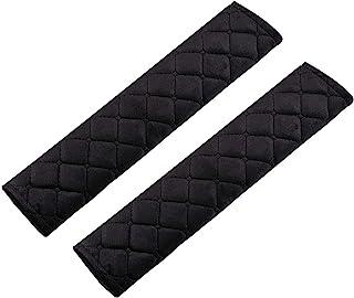 URAQT Protector Cinturon Coche, 2pcs Almohadilla Cinturon
