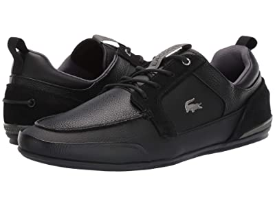 Lacoste Marina 319 4 U (Black/Dark Grey) Men