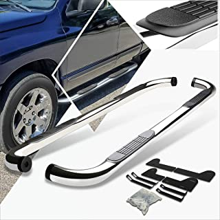 3 Inches Chrome Running Board Side Step Nerf Bar Compatible with Dodge Ram 1500-3500 Crew Cab 02-09