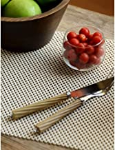 Freelance Vinyl Non Adhesive Anti Slip Skid Shelf & Drawer Cushion Grip Liner Kitchen & Dining Mat & Protector, Large, Ivory