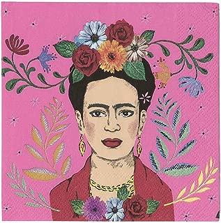 Frida Kahlo Party Supplies Paper Napkins Cocktail Napkins Mexican Boho Theme Pk 40 4
