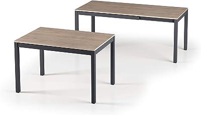 L: 80 x W: 160 x H: 74 cm MDF neutro AC Design Furniture J/örn Tavolo da Pranzo