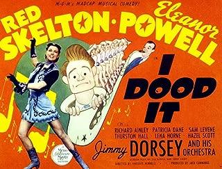 50965 I Dood It Eleanor Powell Red Skelton Jimmy Dorsey 1943 Decor Wall 32x24 Poster Print