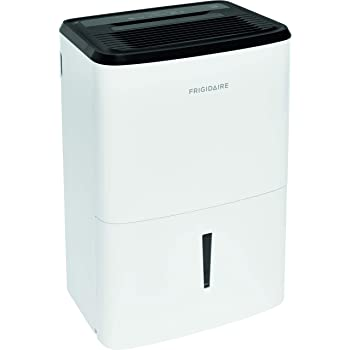 Frigidaire, White 35-Pint Dehumidifier with Effortless Humidity Control