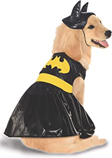 Rubies Costume Co DC Heroes and Villains Collection Pet Costume, Large, Batgirl