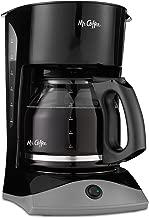Mr. Coffee 12-Cup Coffee Maker, Black (Renewed)