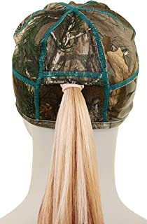Equipment De Sport USA Ladies Realtree Xtra Camo Beanie with Ponytail Hole (Multiple Colors)