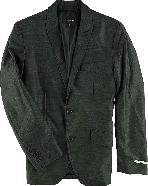 I-N-C Mens Slim-Fit Two Button Blazer Jacket