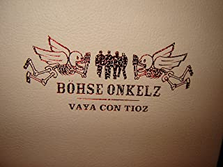 Böhse Onkelz - Vaya con tioz (4 DVDs) / with 160 page photo book / LOS DOS ULTIMOS CONCETOS / Format: Dolby, PAL, Surround Sound / Sprache: Deutsch (Dolby Digital 2.0), Deutsch (Dolby Digital 5.1) / 344 minutes / 16:9 - 1.77:1