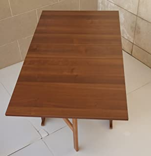 Color : Wood Color, Size : 50 * 30cm Tavoli A Muro for Computer A Parete in Legno Massiccio Scaffale for Cucina Rack for Bagno Portante 80kg