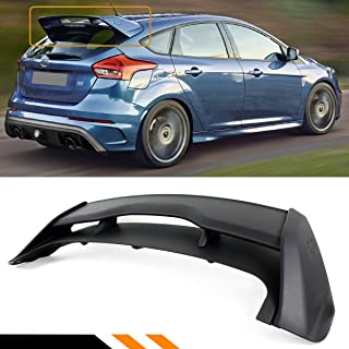 Cuztom Tuning Fits for 2012-2018 Ford Focus ST SE Hatchback RS Style Rear Roof Spoiler Wing