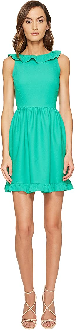 Ruffle Back Mini Dress