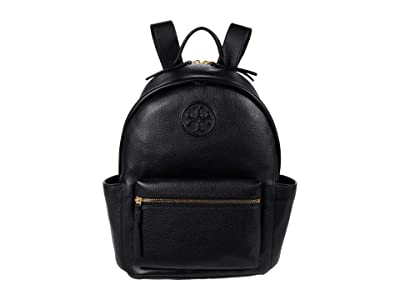 Tory Burch Perry Bombe Backpack (Black) Backpack Bags