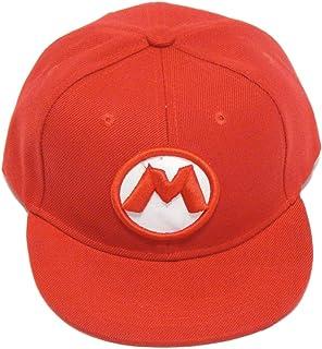 UNKNOW Gorra Super Mario Bros para Niño Bordado M 3D Snapback