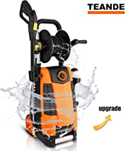 TEANDE 3800PSI Electric Pressure Washer, MAX 2.8GPM Electric Power Washer