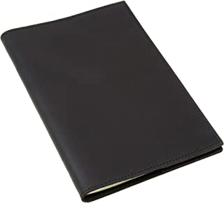 Refillable Leather Notebook (Black)