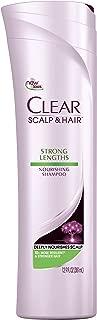 CLEAR SCALP & HAIR BEAUTY Strong Lengths Nourishing Shampoo, 12.9 Fluid Ounce