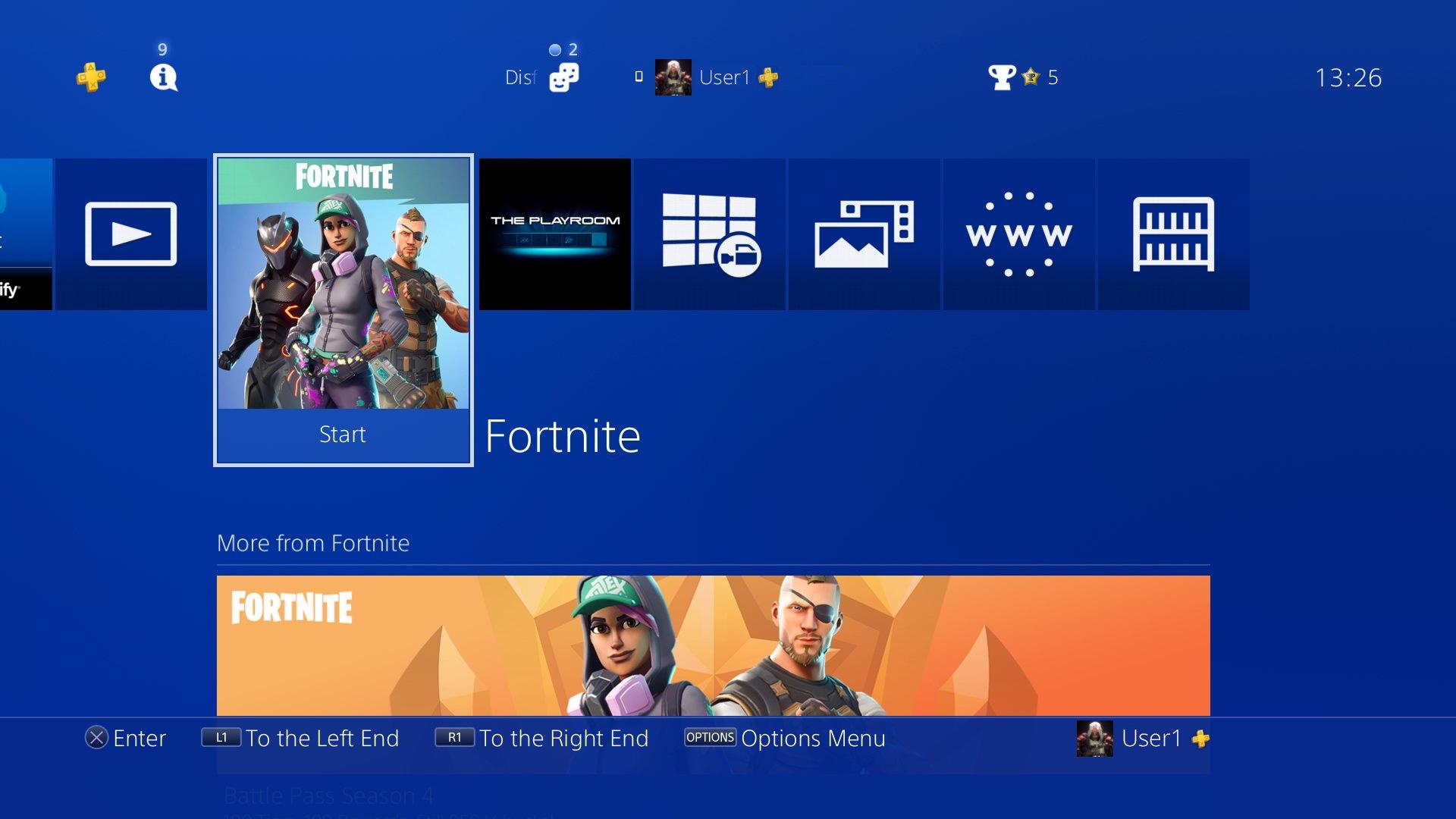 PS4 Slim 1Tb Negra Playstation 4 Consola Pack + Fortnite: Battle ...