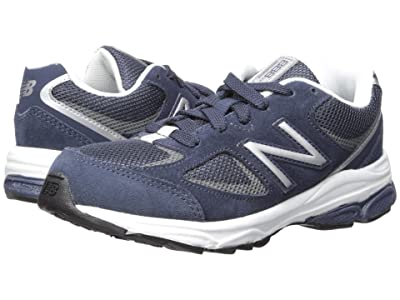 New Balance Kids PK888v2 (Little Kid) (Navy/Grey) Boys Shoes