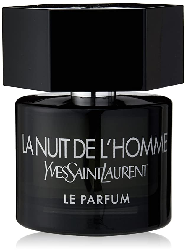 描く黒板朝の体操をするYves Saint Laurent - LA NUIT DE L'HOMME 60ミリリットルのEDPのVAPO - 【並行輸入品】