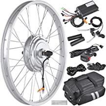 "AW 24"" Electric Bicycle Front Wheel EBike Conversion Kit for 24"" x 1.75"" to 2.1"" Tire 36V 750W Motor"