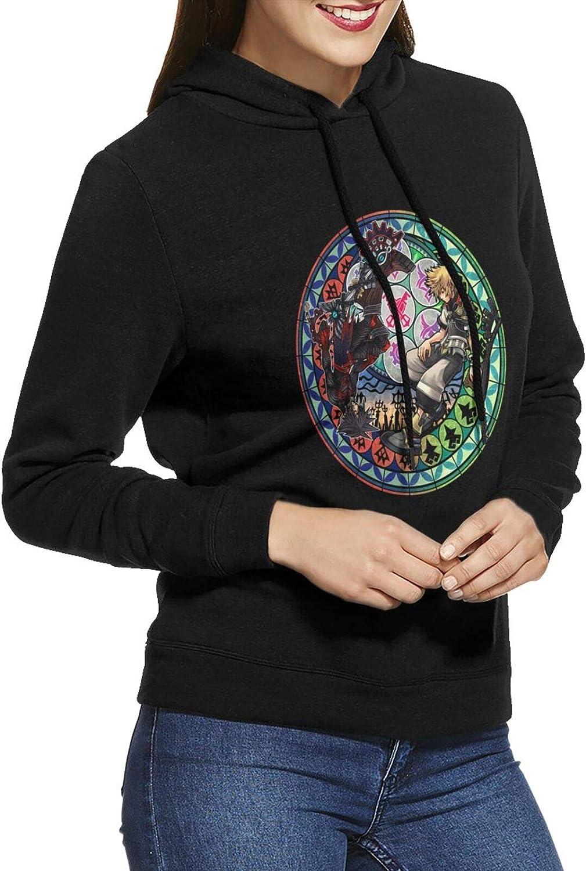 Kingdom Hearts Sora Hoodie Woman'S Cotton Sweatshirts Raleigh Mall Lon All items free shipping Casual