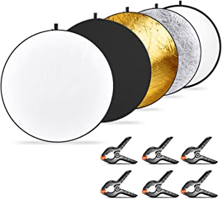 Neewer 5-en-1 Multi-Disco Reflector de Luz Plegable 110 cent