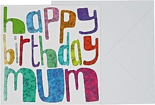 J&G Greeting Cards Birthday Mum Card - Multi Color