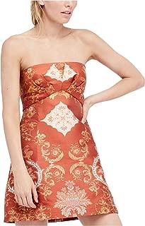 Womens Patterned A-Line Dress
