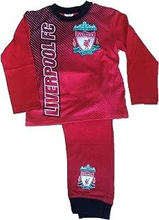 Liverpool F.C Ragazzi Ragazze Bambini Calcio Ufficiale Pigiama Pjs Nightwear 4-12 anni