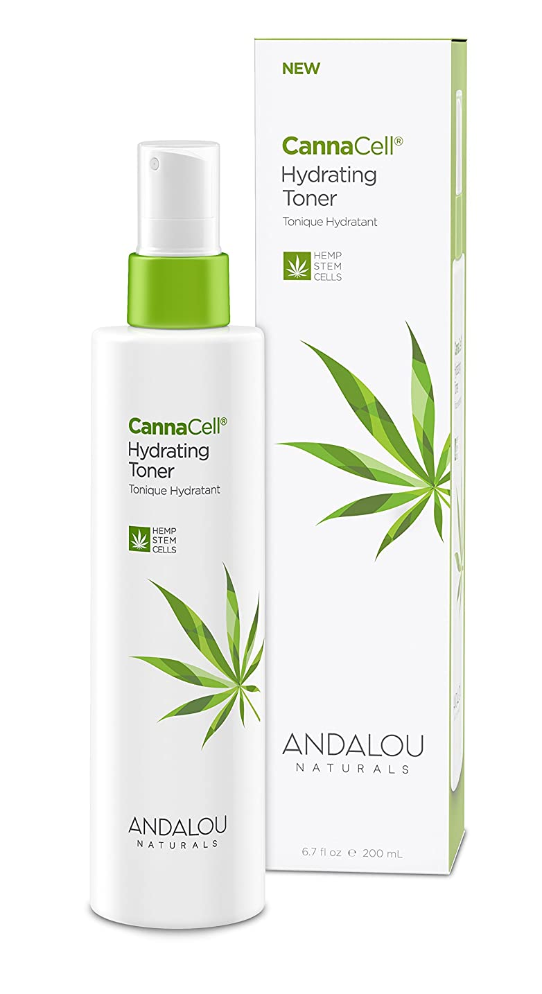 統合するリンス移行するオーガニック ボタニカル 化粧水 トナー ナチュラル フルーツ幹細胞 ヘンプ幹細胞 「 CannaCell? ハイドレーティングトナー 」 ANDALOU naturals アンダルー ナチュラルズ