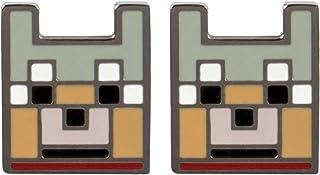 Jinx Minecraft Videojuego Wolf esmalte Stud Pendientes