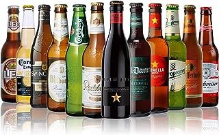 世界のビール12本飲み比べギフトセット スペイン産高級ビール入!スペイン・ドイツ・ベルギーなどビール本場より大集結!全種類の商品説明がわかるビールリスト付 (14弾)