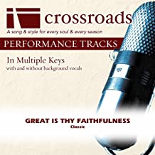 great is thy faithfulness track