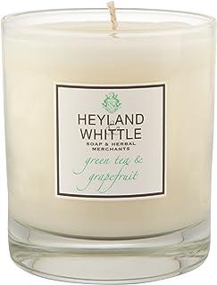 Heyland & Whittle Green Tea and Grapefruit Candle (Pack of 6) - Heyland&削る緑茶とグレープフルーツキャンドル (Heyland & Whittle) (x6) [並行輸入品]