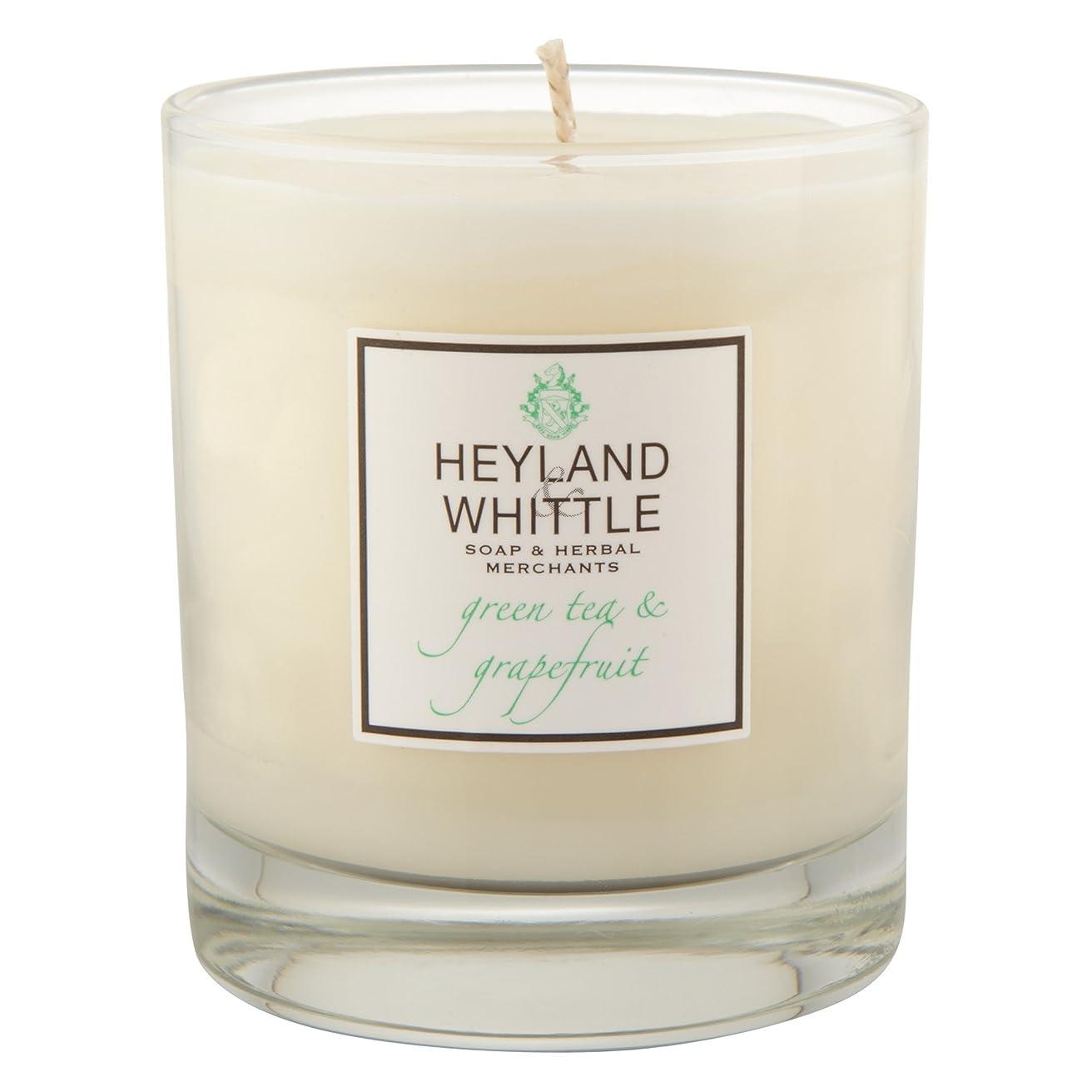 準備する南困惑したHeyland & Whittle Green Tea and Grapefruit Candle (Pack of 6) - Heyland&削る緑茶とグレープフルーツキャンドル (Heyland & Whittle) (x6) [並行輸入品]
