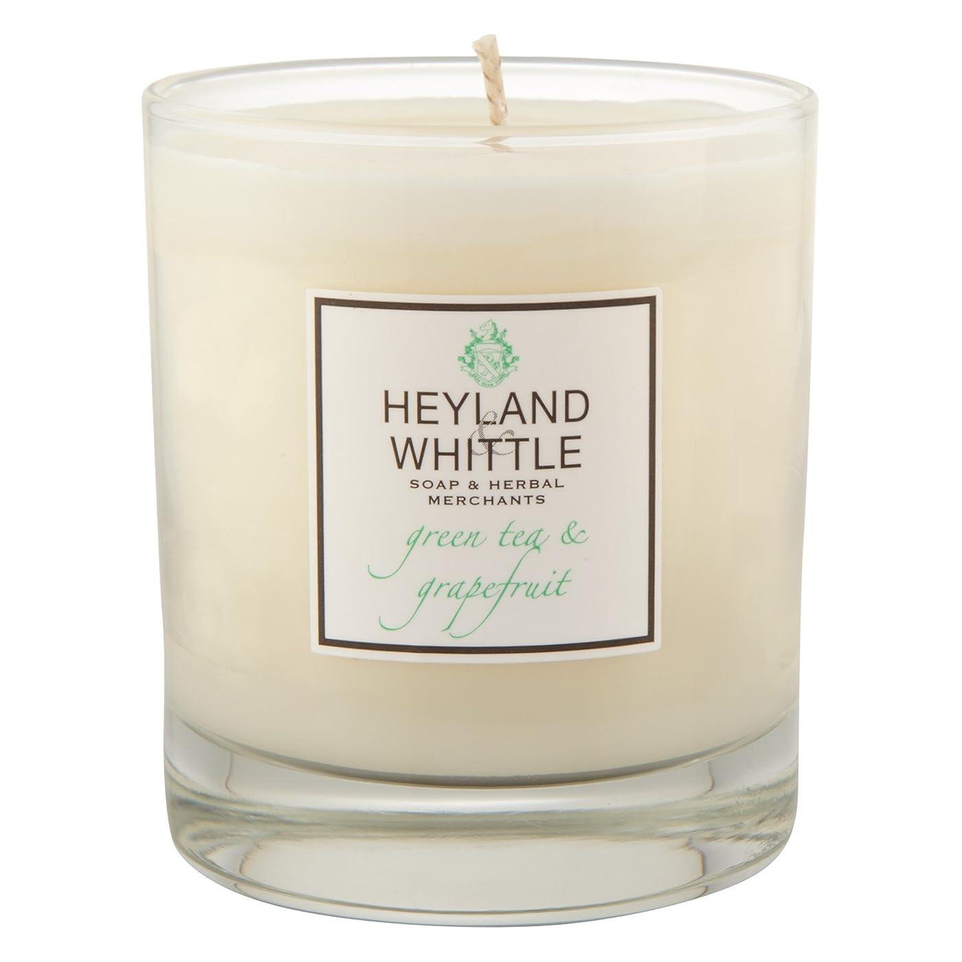 特権騙す行くHeyland & Whittle Green Tea and Grapefruit Candle (Pack of 6) - Heyland&削る緑茶とグレープフルーツキャンドル (Heyland & Whittle) (x6) [並行輸入品]