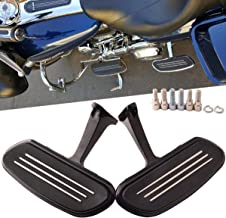 SCMOTO Front Rear Driver Floor Boards Passenger Floorboards Footpegs for Harley Touring Road King Street Electra Glide Road Glide Ultra CVO