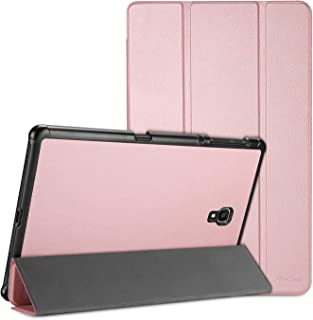 ProCase Galaxy Tab A 10.5 Case T590 T595, Slim Light Stand Hard Shell Cover Protective Case for Galaxy Tab A 10.5-Inch Tablet SM-T590/T595 -Rosegold
