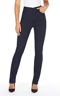 FDJ French Dressing Women's Suzanne Straight Fit Slim Leg Jeans - Petite