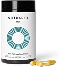 Nutrafol Mens Hair Growth Supplement for Thicker, Stronger Hair (4 Capsules Per Day - 1 Month Supply)…