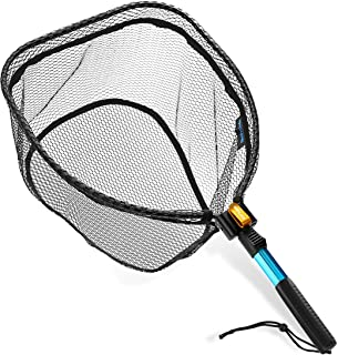 SAN LIKE Fly Fishing Landing Net - Trout Bass Net Folding...